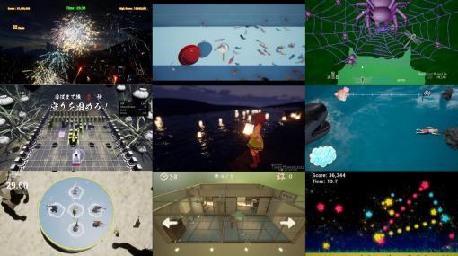 Unreal Engineを用いたゲームコンテスト「第14回 UE4 ぷちコン」結果発表。リッチでユニークなゲームの数々