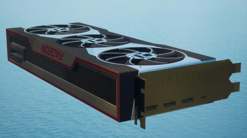 『フォートナイト』クリエイティブにAMD最新グラフィックボード「Radeon RX 6000」が登場。  巨大な次世代グラボを好きな角度から鑑賞