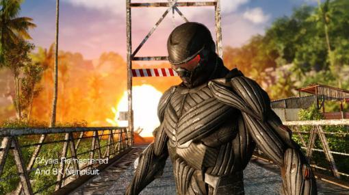 近日発売『Crysis Remastered』ビジュアル強化技術を紹介する8Kトレイラー!