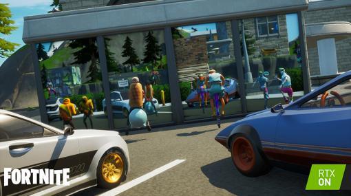 PC版「フォートナイト」、リアルタイムレイトレーシングは9月17日に対応