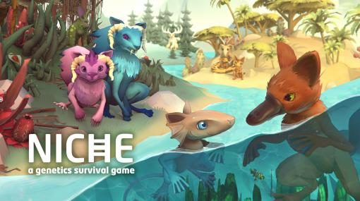 Switch用ソフト「Niche - a genetics survival game」が本日配信。遺伝学にもとづいた交配をテーマにしたターン制戦略シミュレーション