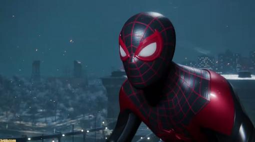 『スパイダーマン:マイルズ・モラレス』プレイ映像が初公開。1作目の1年後の世界が舞台【PS5ショウケース】