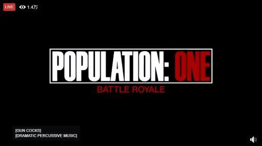 バトロワはついにVRが戦場に! VRバトロワ「POPULATION: ONE」