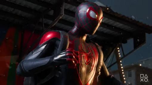 PS5「Marvel's Spider-Man: Miles Morales」、プレイデモ映像初公開新たな力を得たスパイダーマンが大立ち回りを演じる