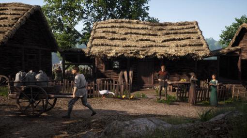 中世舞台サバイバル『Medieval Dynasty』Steam早期アクセス開始! ただの村人から王を目指せ