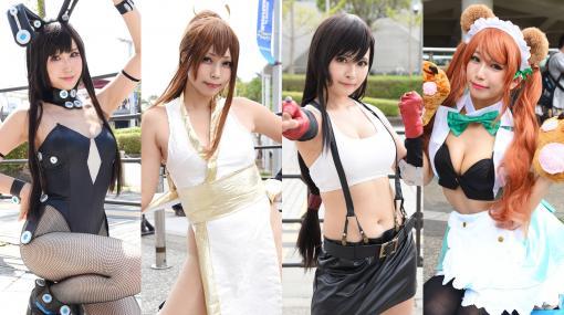 【コスプレ】『FF』ティファや『KOF』不知火舞など魅惑のゲームヒロインが集結! TGSを彩った美人レイヤーをプレイバック PART2