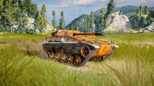PS4/Xbox One版「World of Tanks」がHot Wheelsとのコラボレーションを実施