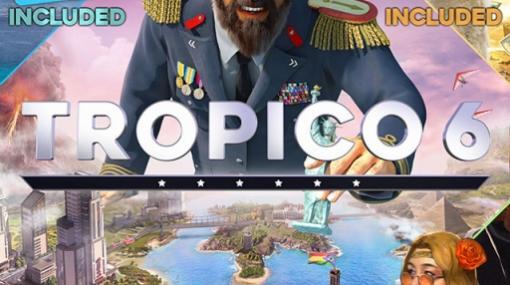 PS4版トロピコ6に3つのDLCがセットになった「トロピコ6&DLC1/2/3パック」がリリース