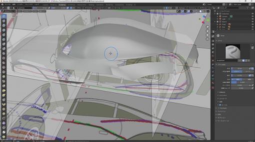 [お知らせ]第52回:クルマモデリング(5)~ボディのモデリング(4)~が配信開始(BlenderでCGをはじめよう!ゼロから学ぶ3DCG教室) - ニュース