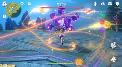 """『原神』6つの基本アクションを紹介。自然のエネルギー""""元素""""を駆使した爽快感抜群のアクションで敵を蹴散らせ!"""