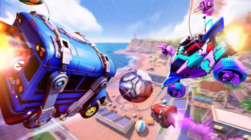『ロケットリーグ』ゲーム内イベント「Llama-Rama」9月26日開幕―『フォートナイト』とコラボの「バトルバス」も登場
