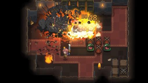 元素魔法で戦うターン制ローグライクRPG『Crown Trick』PC/Nintendo Switch向けに10月16日国内配信決定