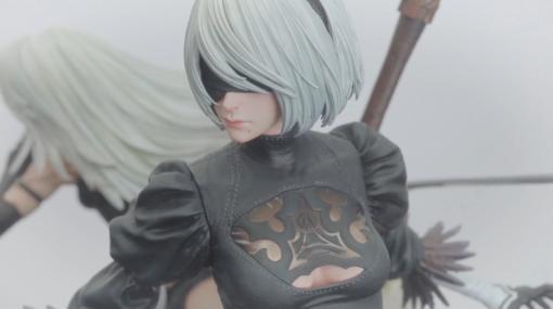 スクエニがフィギュアシリーズ「SQUARE ENIX MASTERLINE」を発表。第一弾『NieR:Automata』の大型フィギュアが制作中