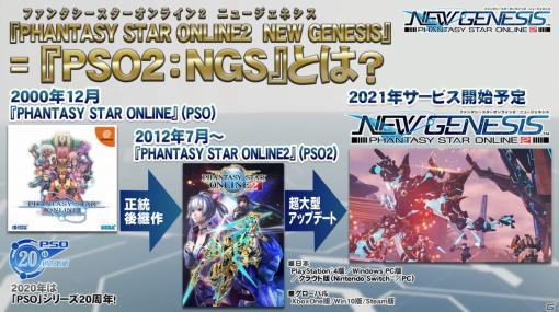 「ファンタシースターオンライン2 ニュージェネシス」のプレイ動画が初公開!「PSO2 NEW GENESIS Introduction」をレポート【TGS2020】