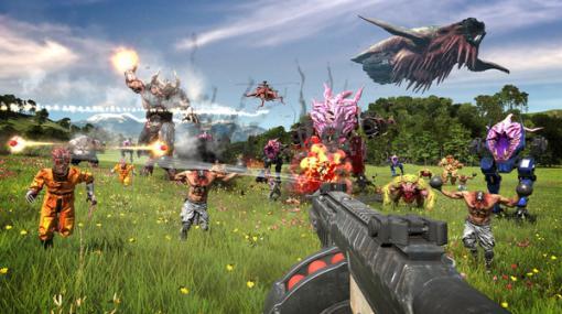 名作撃ちまくりFPSシリーズの最新作『Serious Sam 4』PC向けにリリース!