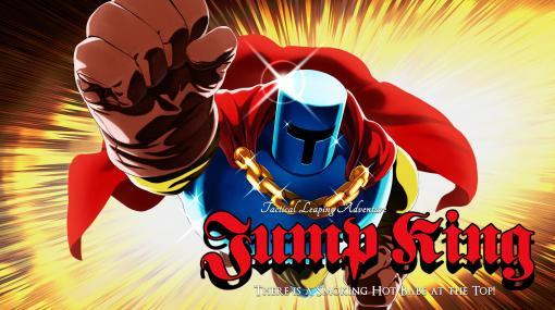 [TGS 2020]PS4/Switch向けソフト「Jump King」が12月17日に発売。高さが36段階で変化するジャンプがキモとなる縦スクロールアクション
