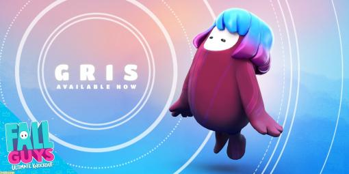 『Fall Guys』にて『GRIS』のコラボスキンが登場! 主人公の少女をモチーフにした美しいデザイン