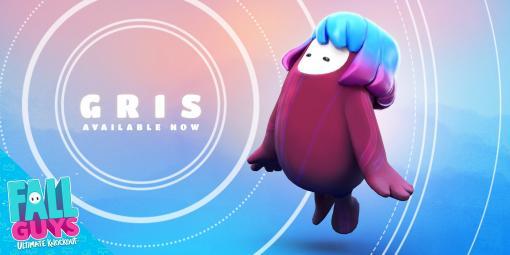 人気のアスレチックバトルロイヤル『Fall Guys』に『GRIS』のコラボスキンが登場。アートデザインで高く評価される作品の雰囲気を可愛らしく再現