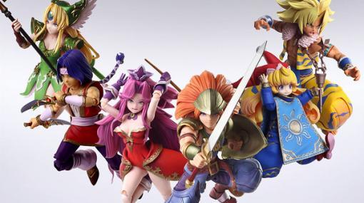 『聖剣伝説3 トライアルズ オブ マナ』主人公達のアクションフィギュアが登場! 生誕25周年を記念して人気投票も