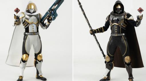 「Destiny 2」ハンターのフル可動フィギュアが「黄金の軌跡・シェーダー」と「カルスに選ばれし者・シェーダー」の姿で登場!