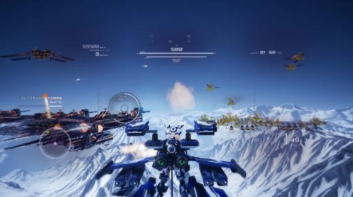 ハードな世界観が彩るハイスピード3DSTG『有翼のフロイライン Wing of Darkness』PC/PS4/スイッチ向けに2021年2月25日発売!