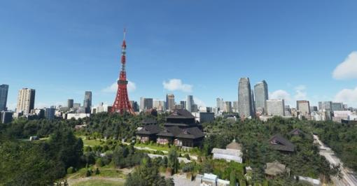 東京の風景をより詳細に!海外製作者による『Microsoft Flight Simulator』向け東京拡張アドオンリリース