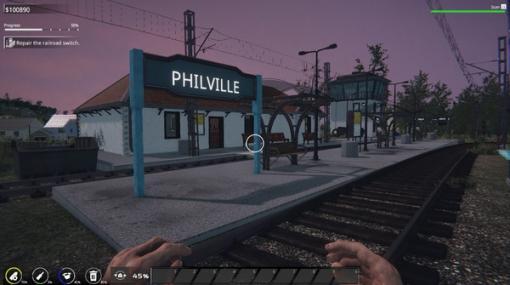 鉄道ファンとリラックスしたい人たちにぴったり―廃墟駅改装シム『Train Station Renovation』開発者ミニインタビュー