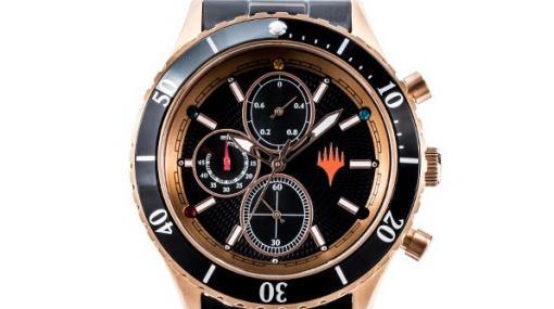 『マジック:ザ・ギャザリング』コラボの腕時計・バッグが登場。5色のマナ「赤」「青」「緑」「白」「黒」をイメージしたグッズに
