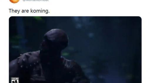 彼らが来る…『Mortal Kombat 11』新情報は10月8日に公開! ティーザー映像も披露