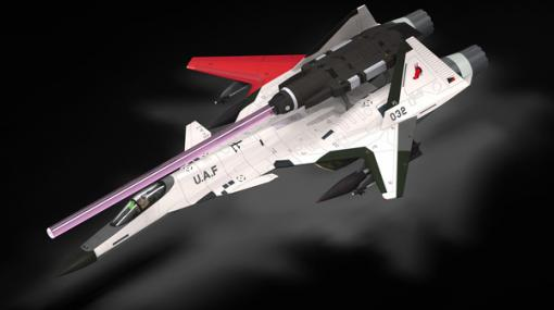 『エースコンバット』架空機プラモ1/144「ADFX-01」2021年3月発売! TLSやMPBM付属