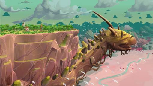放浪する巨大生物の背中で村建造! 世界観も魅力の新作シム『The Wandering Village』キックスターター開始