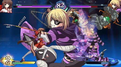 美少女対戦格闘ゲーム『ファントムブレイカー:オムニア』発表。新キャラ2名追加やバランス調整などを施したシリーズ最新作