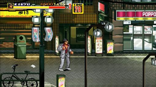 『Streets Of Kamurocho』Steamにて無料配布開始。『龍が如く』キャラが神室町で暴れまわる『ベア・ナックルII』