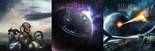 """PS4版「Stellaris」に向けたDLC""""ヒューマノイド""""と""""人工生命体の夜明け"""",そして""""黙示録""""が3本同時で10月29日にリリース"""