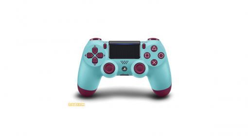 "PS4用コントローラーゲオ限定カラー""ベリー・ブルー""が再販決定。10月23日より販売開始"