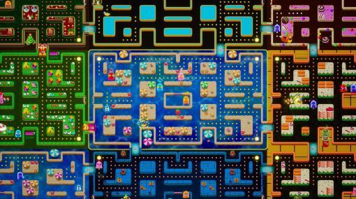 『パックマン』が64人対戦バトロワゲームに。最後のひとりのパックマンを目指す『PAC-MAN Mega Tunnel Battle』がGoogle Stadiaに登場