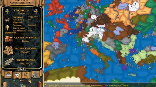 シリーズ20周年! GOG.comにて歴史SLG『Europa Universalis II』を10月24日までの期間限定で無料配布中