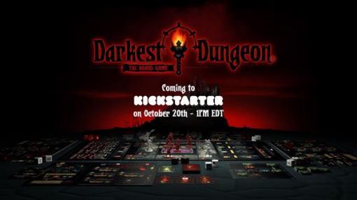 ボードゲーム版『Darkest Dungeon』のKickstarterがたった一日で100万ドル以上を調達して成功