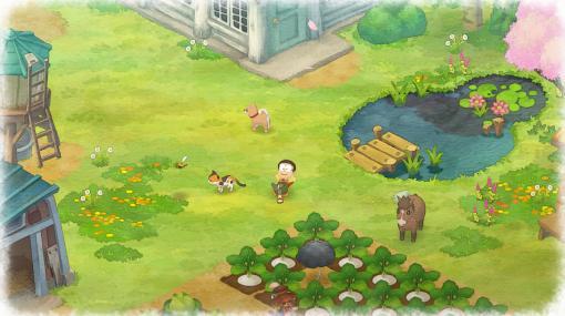 「ドラえもん のび太の牧場物語」の日本語版がSteamで配信開始。のび太たちが荒れた農地を発展させていくスローライフ体験ゲーム