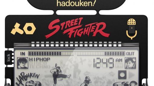 『ストリートファイターII』、『ロックマン』の音で作曲できるポケットシンセサイザーが10月31日に発売。「teenage engineering」の「pocket operator」シリーズから展開
