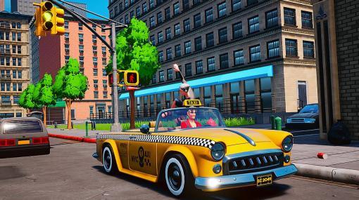 『クレイジータクシー』を彷彿させるタクシーACT『Taxi Chaos』開発中。客を乗せ街を爆走し、なるはやで目的地まで届けろ