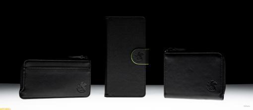 『エヴァンゲリオン』初号機をイメージしたレザーアイテムが登場。ふだん使いしやすい黒を基調としたデザイン
