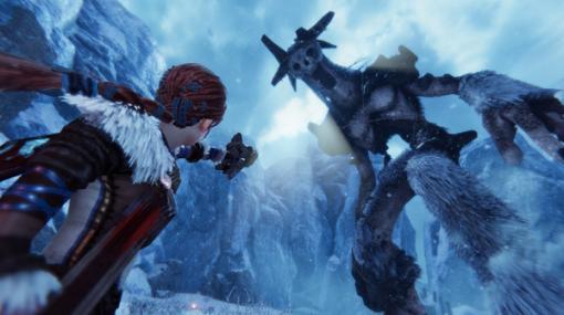 巨大ボスと戦うオープンワールドADV『Praey for the Gods』PS5/PS4版は2021年Q1にリリース!