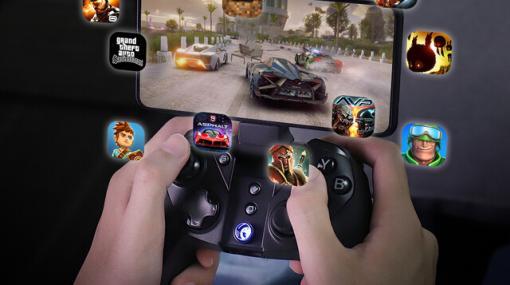 スマホ、PC、Switchなどで使えるマルチプラットフォームゲームコントローラー『GameSir G4 pro』