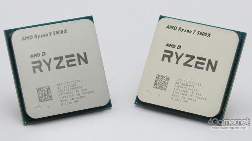 AMDの新世代CPU「Ryzen 9 5900X」&「Ryzen 7 5800X」レビュー。Zen 3アーキテクチャ採用でゲームにおける性能が大きく向上