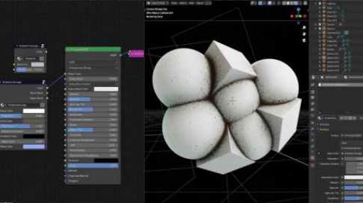 Ambient Grunge Node for Blender - 溝部分の汚れを手軽に表現出来るBlender用ノードグループ!無料版もあるよ!