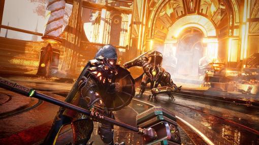 """超攻撃型""""ルータースラッシャー""""ARPG『Godfall』PS5パッケージ版、PLAYISMより発売。日本語テキストの不具合は近日中に修正予定"""
