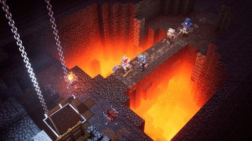 『Minecraft Dungeons』海外11月17日からクロスプレイに対応―みんなで邪悪な村人の野望を打ち砕け!