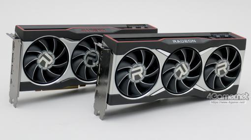 写真で見る「Radeon RX 6800 XT」&「Radeon RX 6800」リファレンスカード。長さ約270mmのオーソドックスな仕様のカードだ