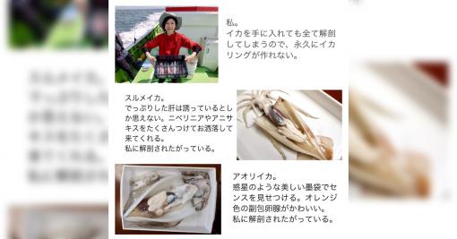 イカ同人誌の編集長を務める無類のイカ好きが紹介する解剖遍歴がシュールすぎる→イカにまつわるQ&Aも - Togetter